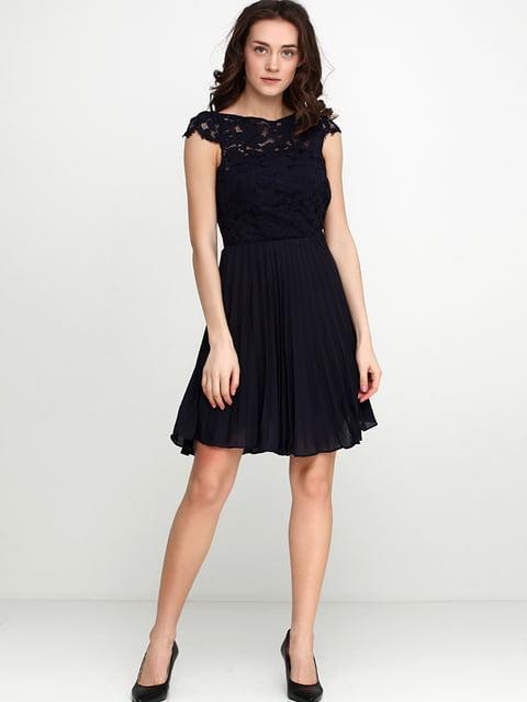 Платье темно-синее H&M 5245054