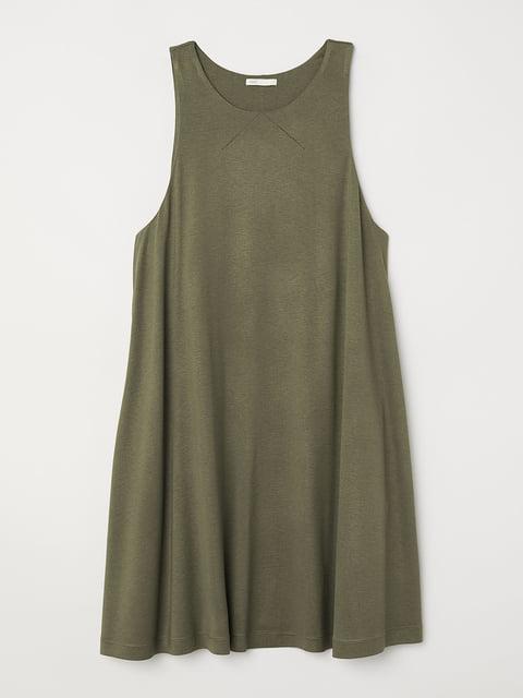 Платье цвета хаки H&M 5245120