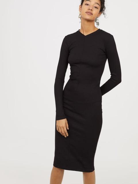 Платье черное H&M 5245159