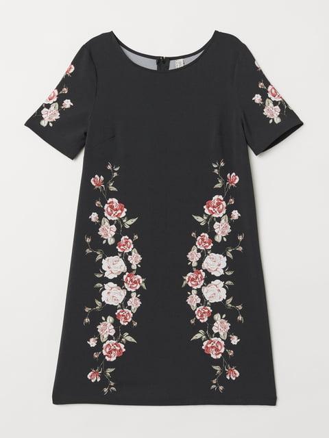 Платье черное H&M 5245196