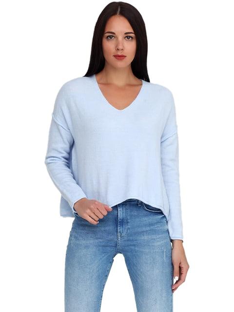Пуловер голубой H&M 5245227