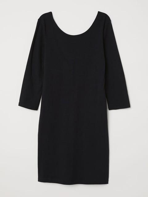 Платье черное H&M 5245267