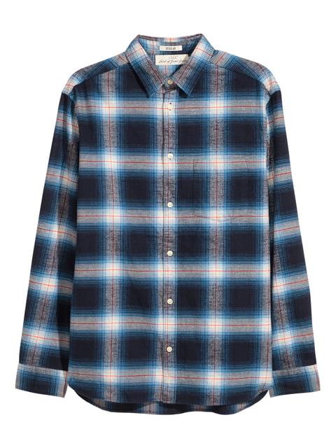 Рубашка сине-белая H&M 5245287