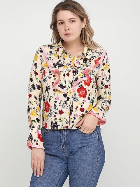 Блуза бежевая H&M 5245307
