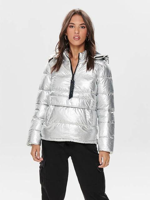 Куртка срібляста Only 5213322