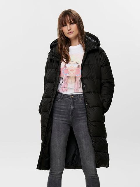 Пальто чорне Only 5221066