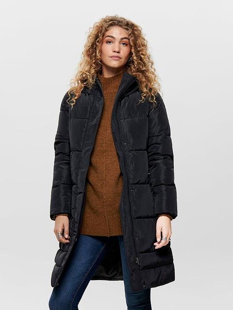 Пальто чорне Only 5251092