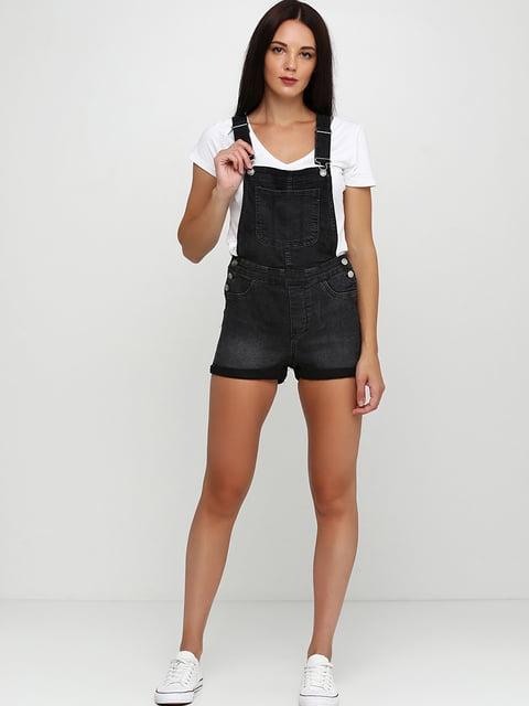 Комбинезон джинсовый темно-серый H&M 5244253