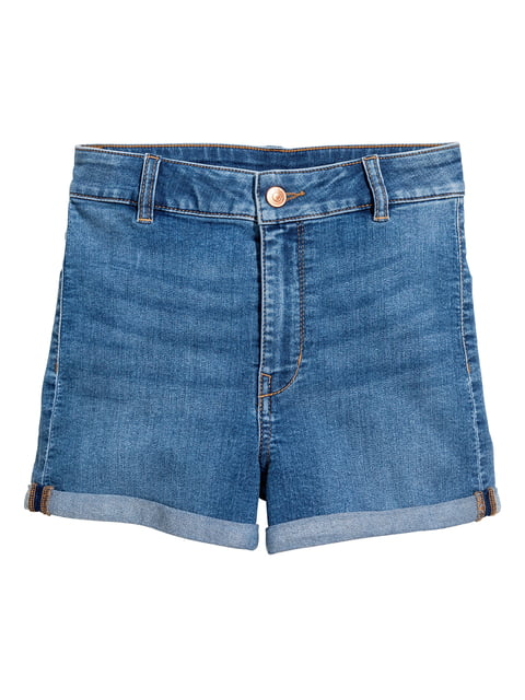 Шорты джинсовые темно-синие H&M 5244325