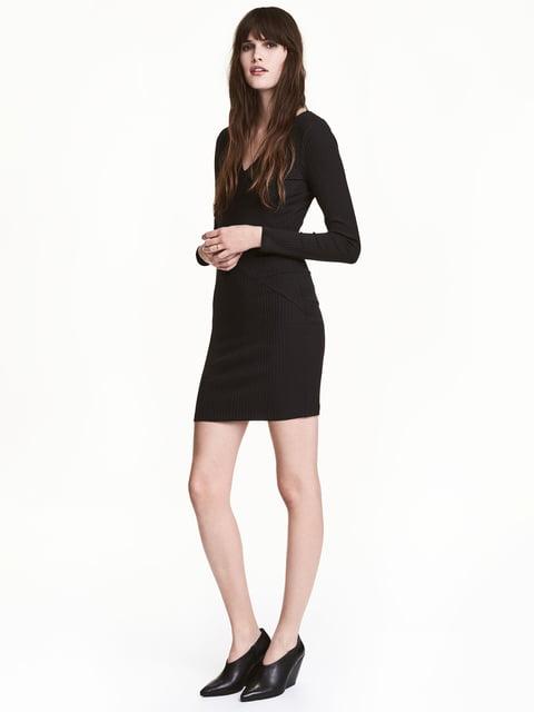 Платье черное H&M 5244553