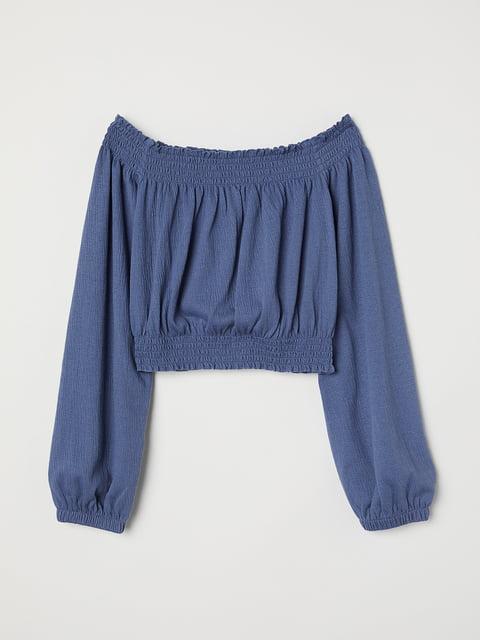 Топ синий H&M 5245039