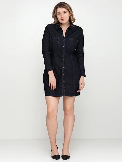 Платье джинсовое темно-синее H&M 5245204