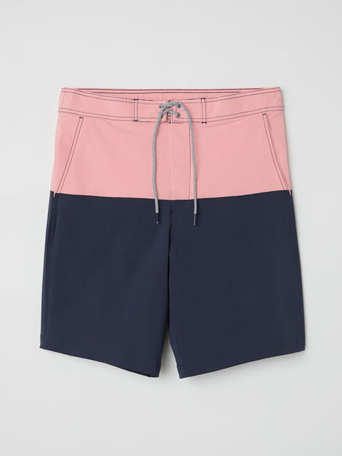 Шорты для купания розово-синие H&M 5171368