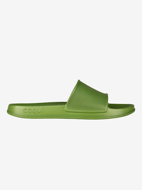 Шлепанцы зеленые Coqui 5251480