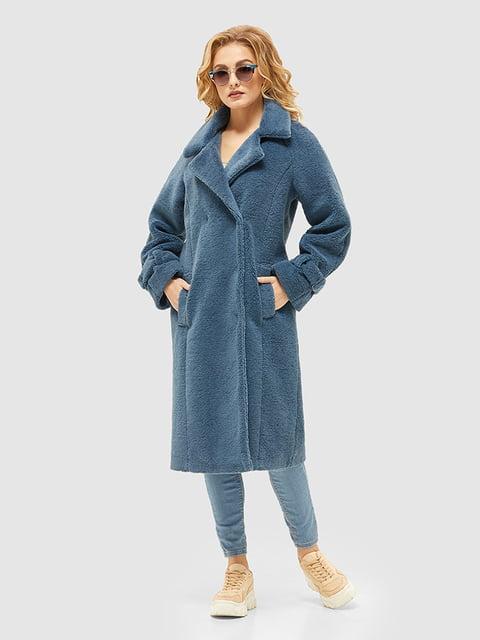 Пальто блакитне Mila Nova 5252562