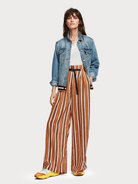 Куртка джинсовая голубая Scotch&Soda 5201814