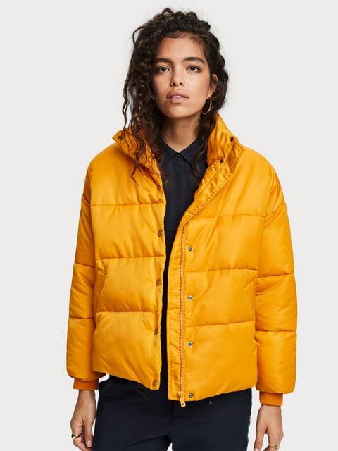 Куртка желтая Scotch&Soda 5227963