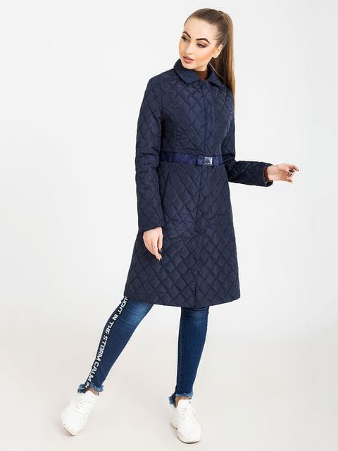 Пальто синее Ozona Milano 5080059
