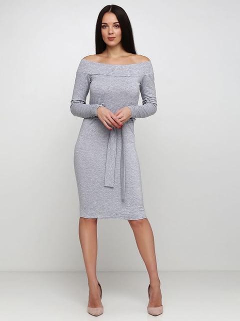 Платье серое Podium 5253171