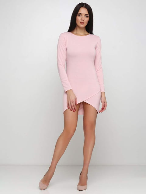 Платье розовое Podium 5253187
