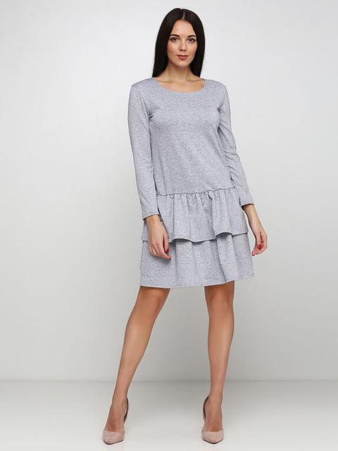Платье серое Podium 5253191