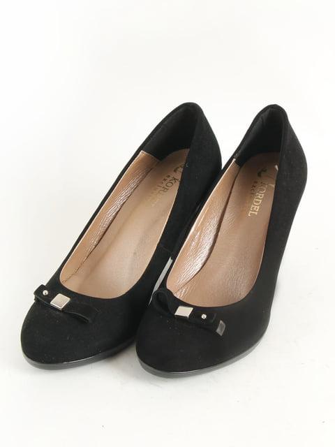 Туфлі чорні Kordel 5253541
