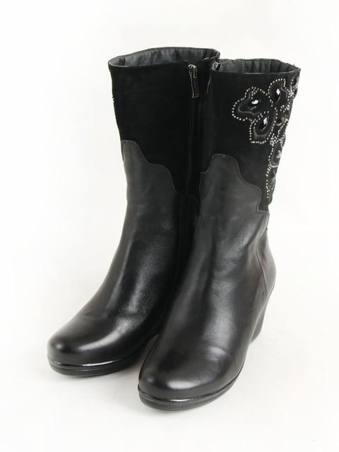 Полусапожги черные МТР 5253559
