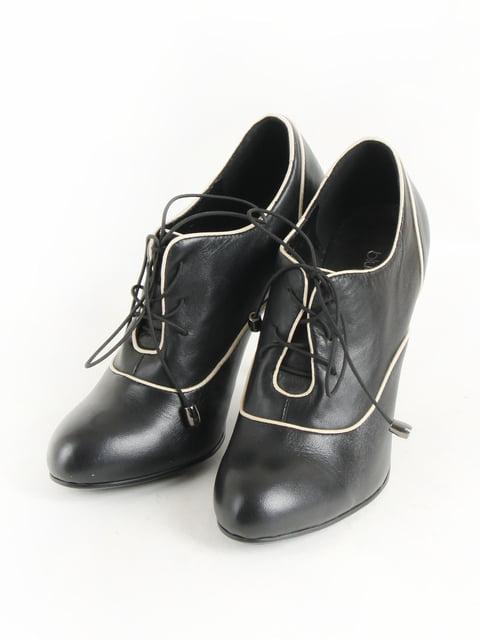 Туфлі чорно-білі МТР 5253588