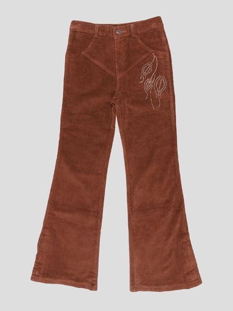 Штани коричневі Qialuo 2913678