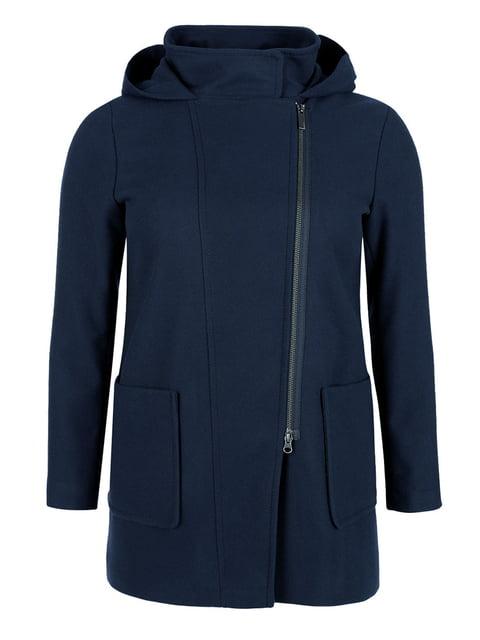 Пальто темно-синє Triangle 5254183