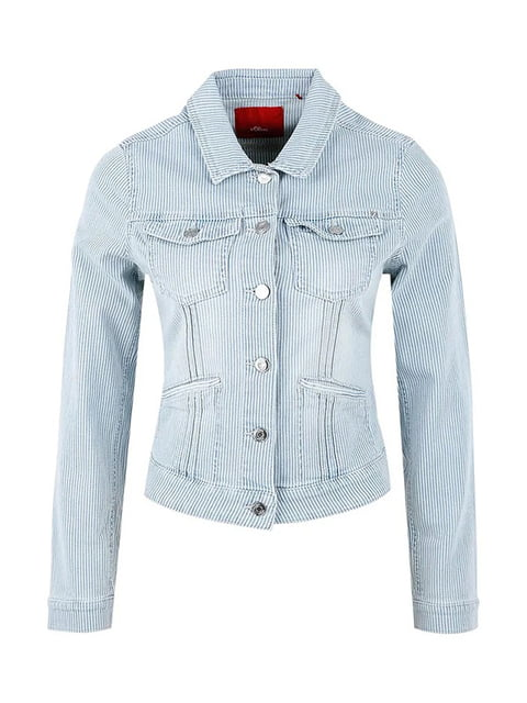 Куртка блакитна джинсова S.Oliver 5254231