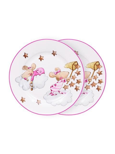 Набір тарілок (2 шт.) «Дівчинка-мишка» (19 см) LEFARD 5254497