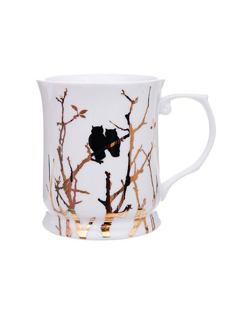 Чашка «Золоті совушки» (400 мл) LEFARD 5254515