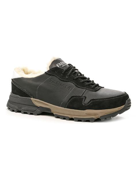 Кроссовки черные Fabiani 5243741