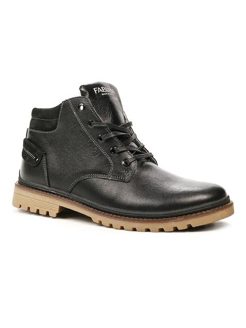 Ботинки черные Fabiani 5243762