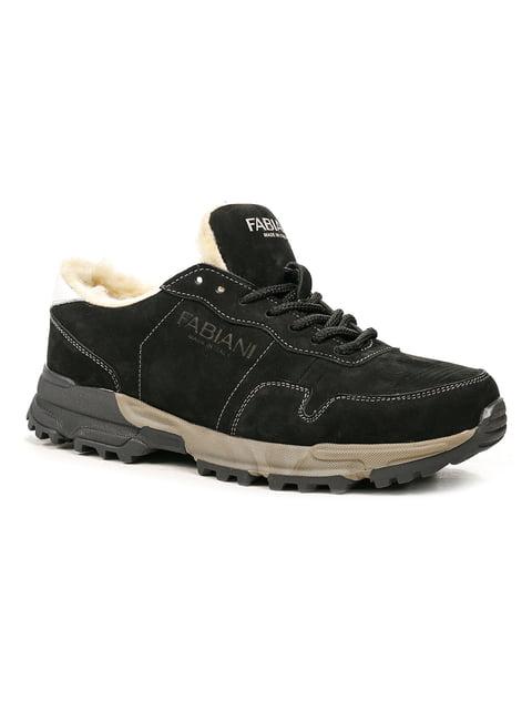 Ботинки черные Fabiani 5252573