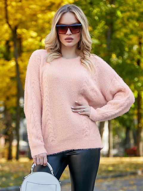 Джемпер персикового цвета Seventeen 5255489