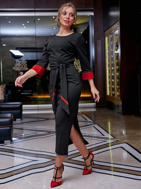 Платье черное Seventeen 5255516