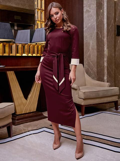 Платье бордовое Seventeen 5255518