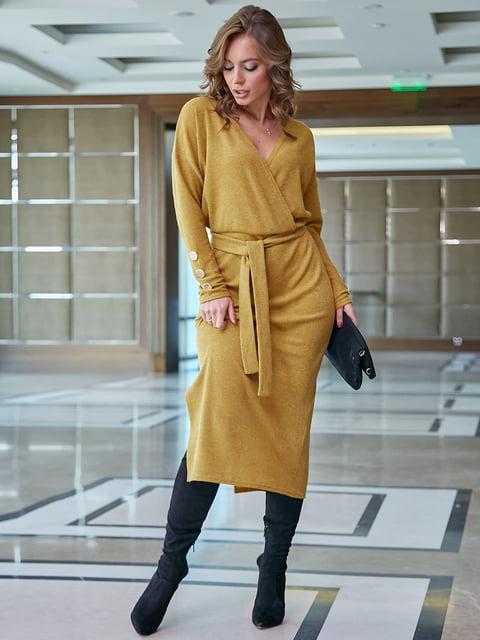 Платье горчичного цвета Seventeen 5255533