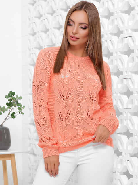 Джемпер персикового цвета MarSe 5255642