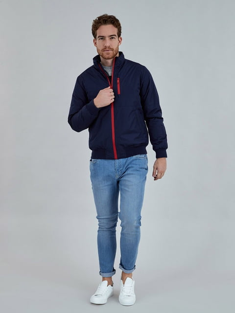 Куртка синя Piazza Italia 5246554