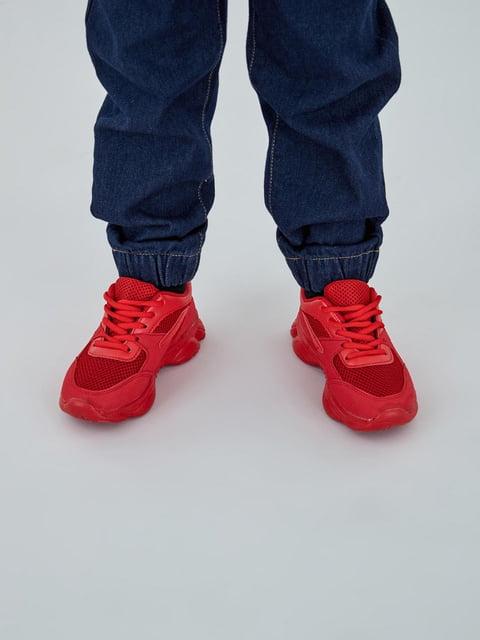 Кроссовки красные Piazza Italia 5246623