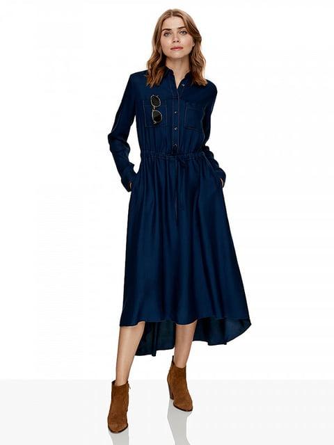 Сукня синя Benetton 5211691