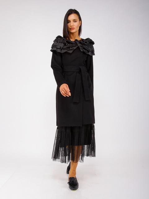 Пальто чорне CORRERA 5256780