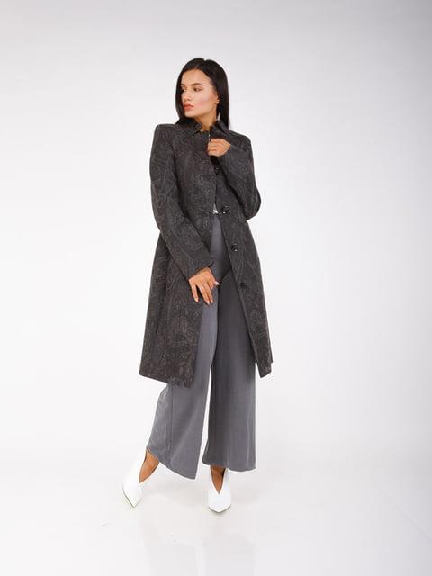 Пальто сіре CORRERA 5256795