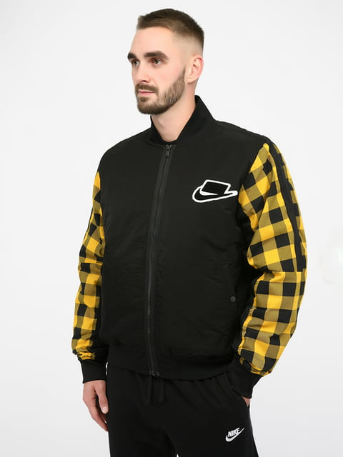 Куртка спортивна чорна Nike 5257253