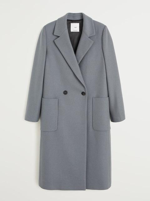 Пальто серое Mango 5252972