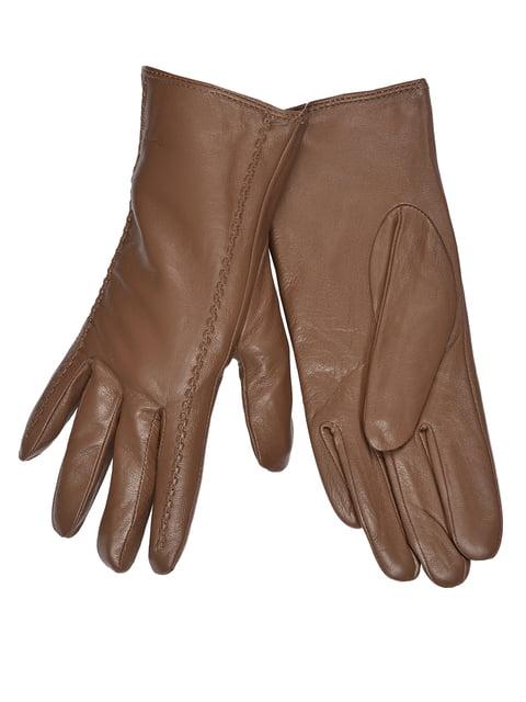 Перчатки коричневые Fashion Look 5258574