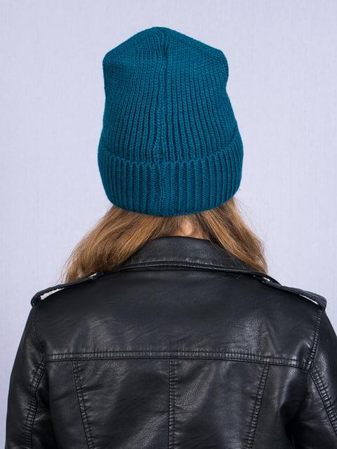 Шапка бирюзовая Fashion Look 5258598
